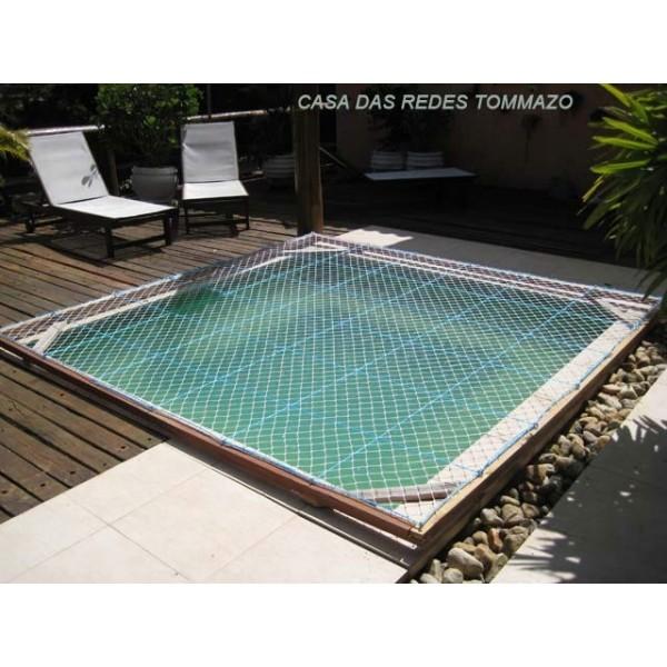 Rede de prote o para piscina em s o caetano abcd redes for Tela impermeable para piscinas