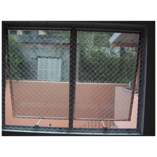 Qual Valor de Instalar a Rede de Proteção nas Janelas na Vila Lutécia - Rede de Proteção para Janelas em São Bernardo