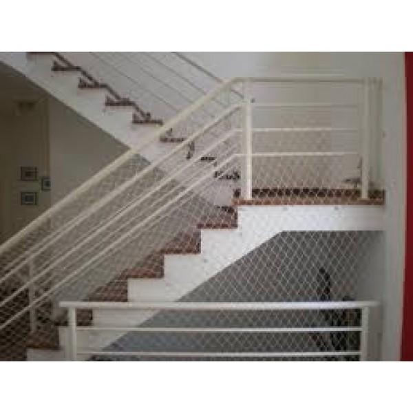Rede de Proteção de Escada na Barcelona - Rede de Proteção para Janelas em Santo André