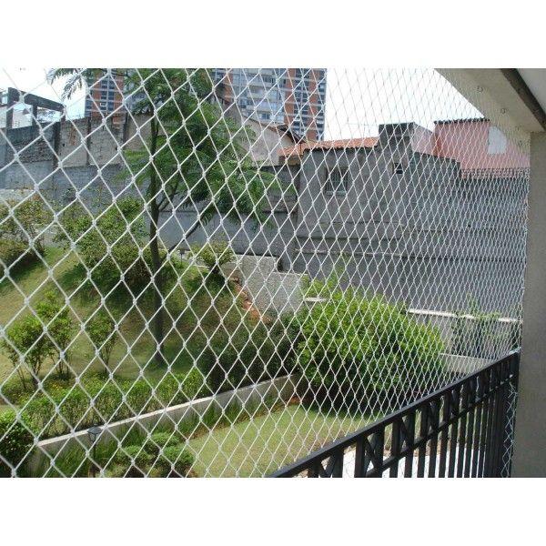 Rede de Proteção para Sacadas no Campanário - Rede de Proteção para Janelas no Tatuapé