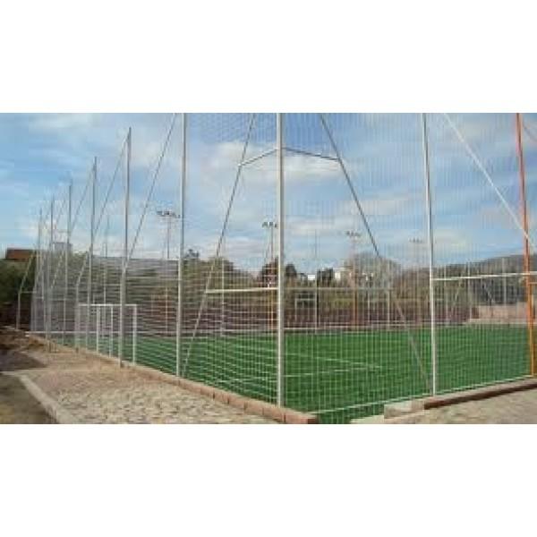 Rede para Segurar a Bola em Campo no Jardim Santo Alberto - Rede de Proteção para Janelas no Tatuapé