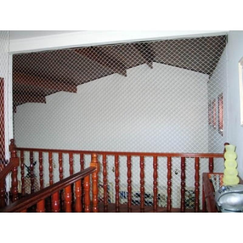 Tela de Proteção Resistente no Jardim Iguatemi - Tela de Proteção para Sacada