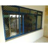 Como instalar rede proteção janela no Campanário