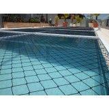Como instalar tela de proteção para piscina no Jardim Alice