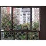 Loja de instalar a rede proteção de janela na Vila Diva