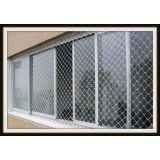 Lojas rede proteção de janela na Vila Glória