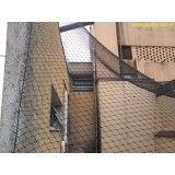 Preço para colocar rede de proteção de prédios na Chácara Maranhão