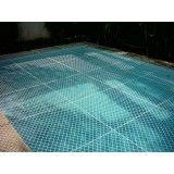 Proteger piscina com rede no Parque João Ramalho