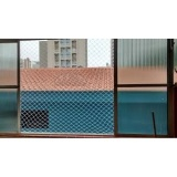 quero comprar tela de proteção para janela  em Santo André