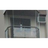 Rede de proteção para janela na Vila Lutécia