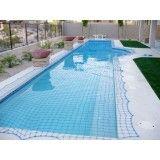 Rede de proteção para piscinas na Mauá
