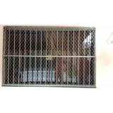 rede de protetora de janela transparente