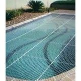 Rede proteção na piscina na Vila Alzira