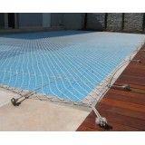 Redes de proteção para piscinas no Jardim Guarará