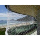 Serviço instalar a rede proteção de janela no Parque Erasmo Assunção