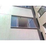 Site de rede proteção janela na Vila Alzira