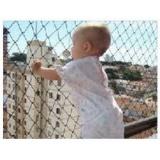 tela de proteção de janela no Parque São Rafael