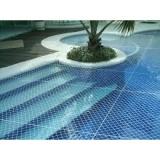 tela para cobrir piscina em Santo André