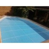 Valor de tela de proteção para piscina na Vila Linda