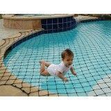 Valor tela de proteção para piscina no Jardim Santa Cristina