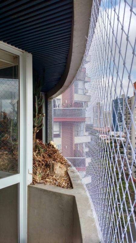 Empresa de Rede de Proteção Resistente na Cidade Líder - Rede Protetora para Sacada