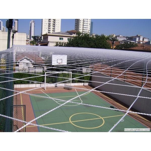 Instalar Rede em Quadra no Parque Novo Oratório - Rede de Proteção para Janelas em São Bernardo