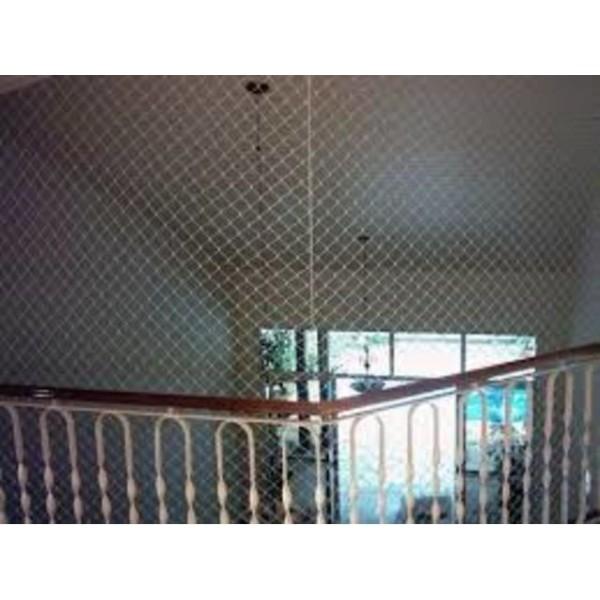 Preciso Instalar a Rede Proteção para Casas no Jardim Cristiane - Redes de Proteção em Santo André