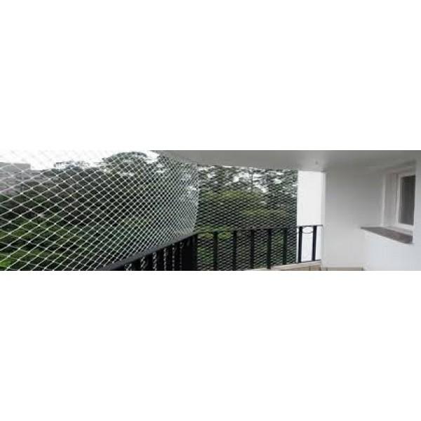 Preços para Colocar Rede de Proteção de Varandas Condomínio Maracanã - Empresa de Rede de Proteção