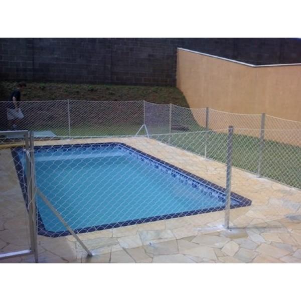 Preços para Instalar Tela de Proteção para Piscina no Jardim Santa Cristina - Rede de Proteção Piscina