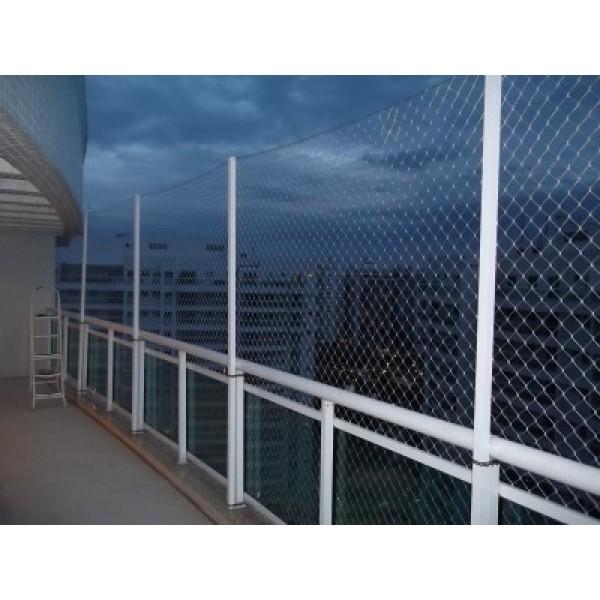 Qual o Preço Rede de Proteção de Varandas no Jardim do Estádio - Rede de Proteção Preço