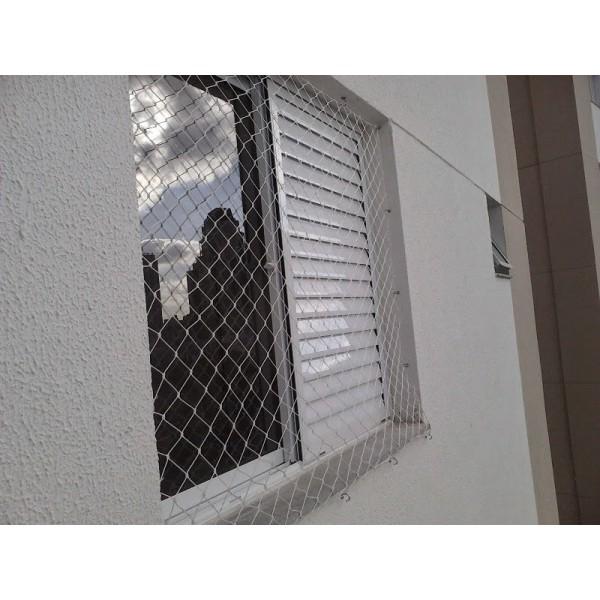 Qual o Valor para por Rede de Proteção para Janelas na Vila Guaraciaba - Loja de Rede de Proteção