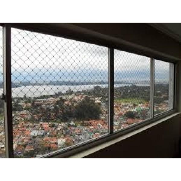 Qual Valor de Instalar Rede Proteção Janela no Parque Novo Oratório - Redes de Proteção em São Bernardo
