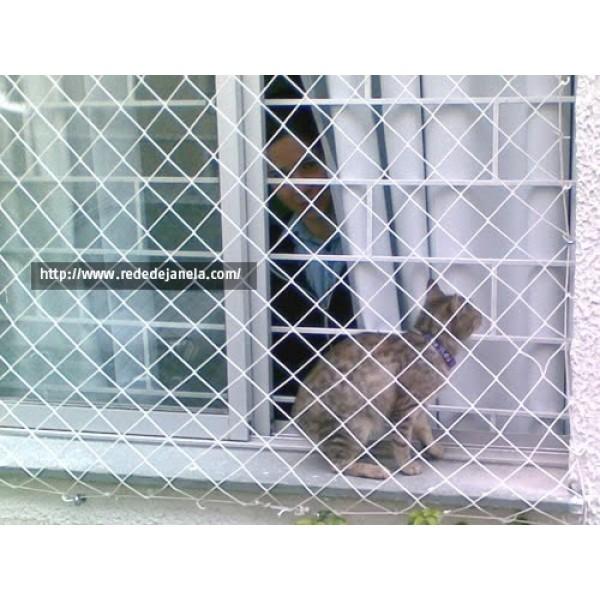 Rede de Proteção para Janelas no Jardim Santo Antônio - Rede de Proteção para Janelas