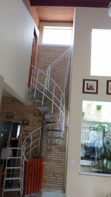 Rede de Proteçãopara Sala em Água Rasa - Rede de Proteção para Escada