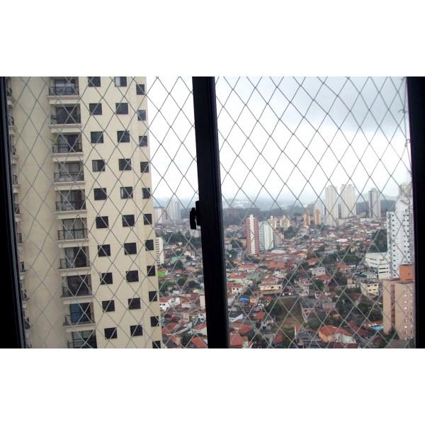 Serviço Instalar a Rede Proteção de Janela na Chácara Paraíso - Redes de Proteção no ABC