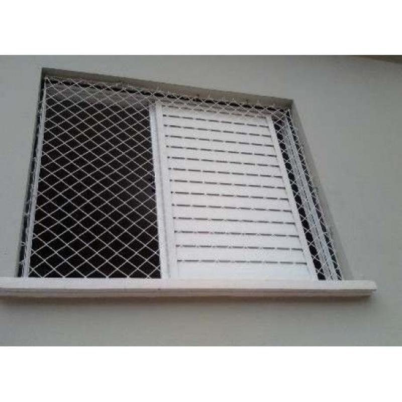 Tela de Proteção para Janela de Apartamento em Aricanduva - Tela de Proteção para Janela de Apartamento