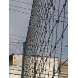 Empresa para instalar a rede proteção na Vila Lutécia