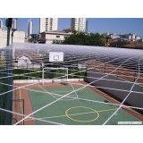 Instalar rede em quadra na Vila Tibiriçá