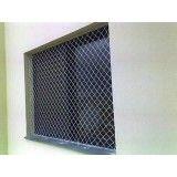 Loja de instalar a rede proteção de janela na Santa Paula