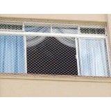 Lojas de fazer rede de proteção para janelas na Vila Nogueira