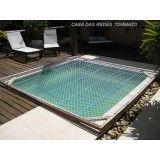 Preço tela de proteção para piscina no Jardim Guarará
