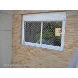 Quais os valores rede proteção janela no Jardim Stella