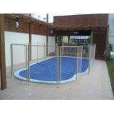 Qual o preço de rede de proteção piscina na Cata Preta