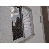Qual o valor para por rede de proteção para janelas na Parque dos Pássaros