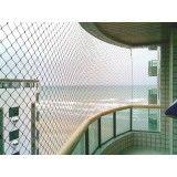 Rede de proteção de varandas na Bairro Silveira
