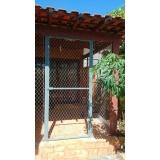 rede de proteção para casa na Vila Esperança