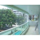 Rede de proteção para janelas e varandas na Bairro Silveira