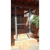 rede de proteção para janelas grandes na Vila Ré