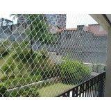 Rede de proteção para sacadas na Nova Gerty