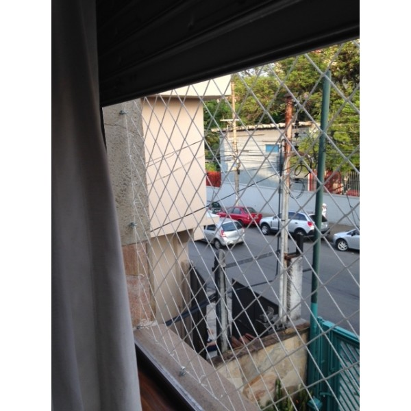 Serviços rede proteção de janela no Jardim Paraíso